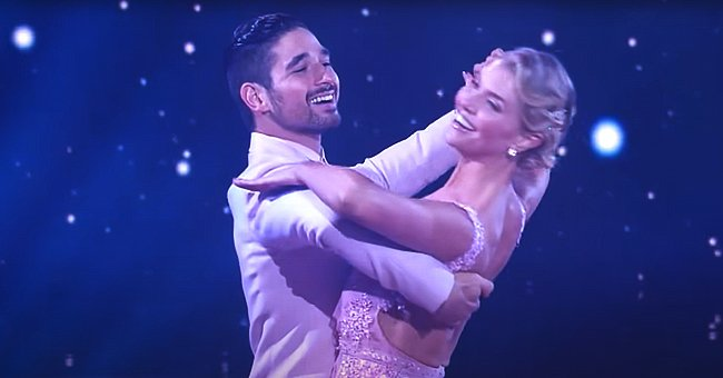 """Alan Bersten andAmanda Kloots dance the Foxtrot to """"It Had To Be You"""" by Ray Chew on September 27, 2021, on """"Dancing with the Stars""""   Photo: YouTube/Dancing with the Stars"""
