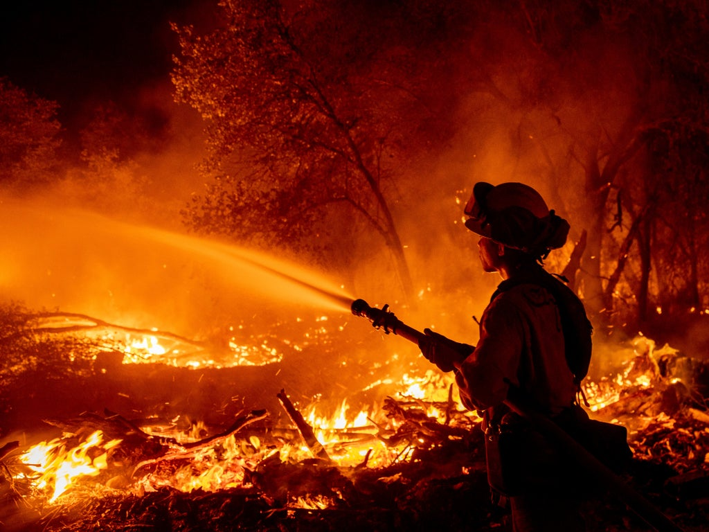 Arsonist charged for California wildfire was 'boiling bear urine'
