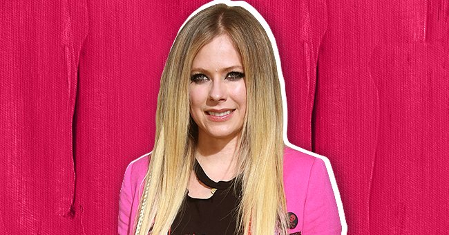 """Avril Lavigne pictured at the premiere of MGM's """"The Hustle,"""" in Hollywood, California in 2019. 