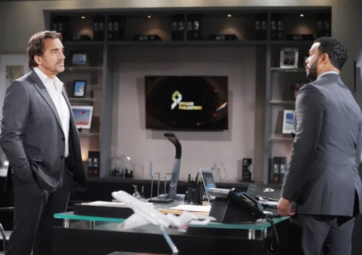 The Bold And The Beautiful: Ridge Forrester (Thorsten Kaye) - Justin Barber's (Aaron D. Spears)