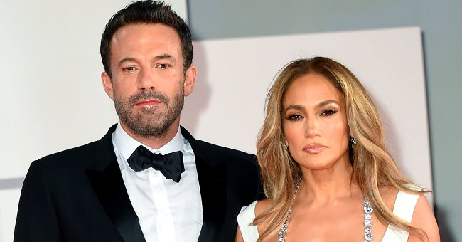Ben Affleck and Jennifer Lopez at the red carpet during the 78th Venice International Film Festival in Venice, Italy | Photo: Stephane Cardinale - Corbis/Corbis via Getty Images