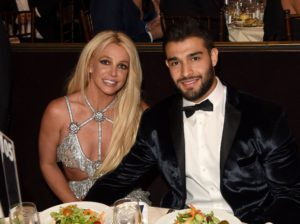 Britney Spears Celebrating Her Engagement With New Fiance Sam Asghari