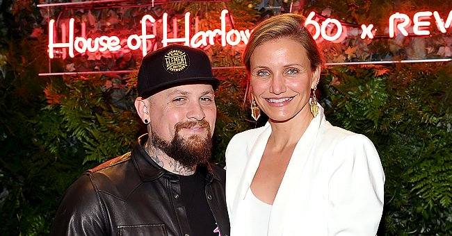 Benji Madden and Cameron Diaz atHouse of Harlow 1960 x REVOLVE on June 2, 2016, in Los Angeles, California | Photo:Donato Sardella/Getty Images