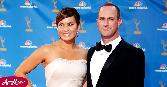 A picture of Mariska Hargitay and Christopher Meloni at an event   Photo: Getty Images