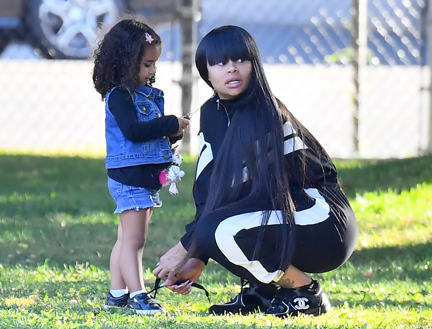 Rob Kardashian Daughter Dream Posing with Mom Blac Chyna - Fans Are Divided