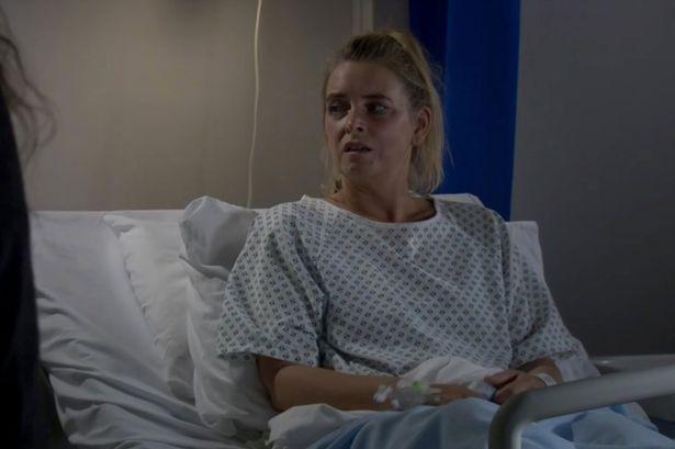 Emmerdale fans baffled by Charity hospital 'blunder' as she exposes burglar