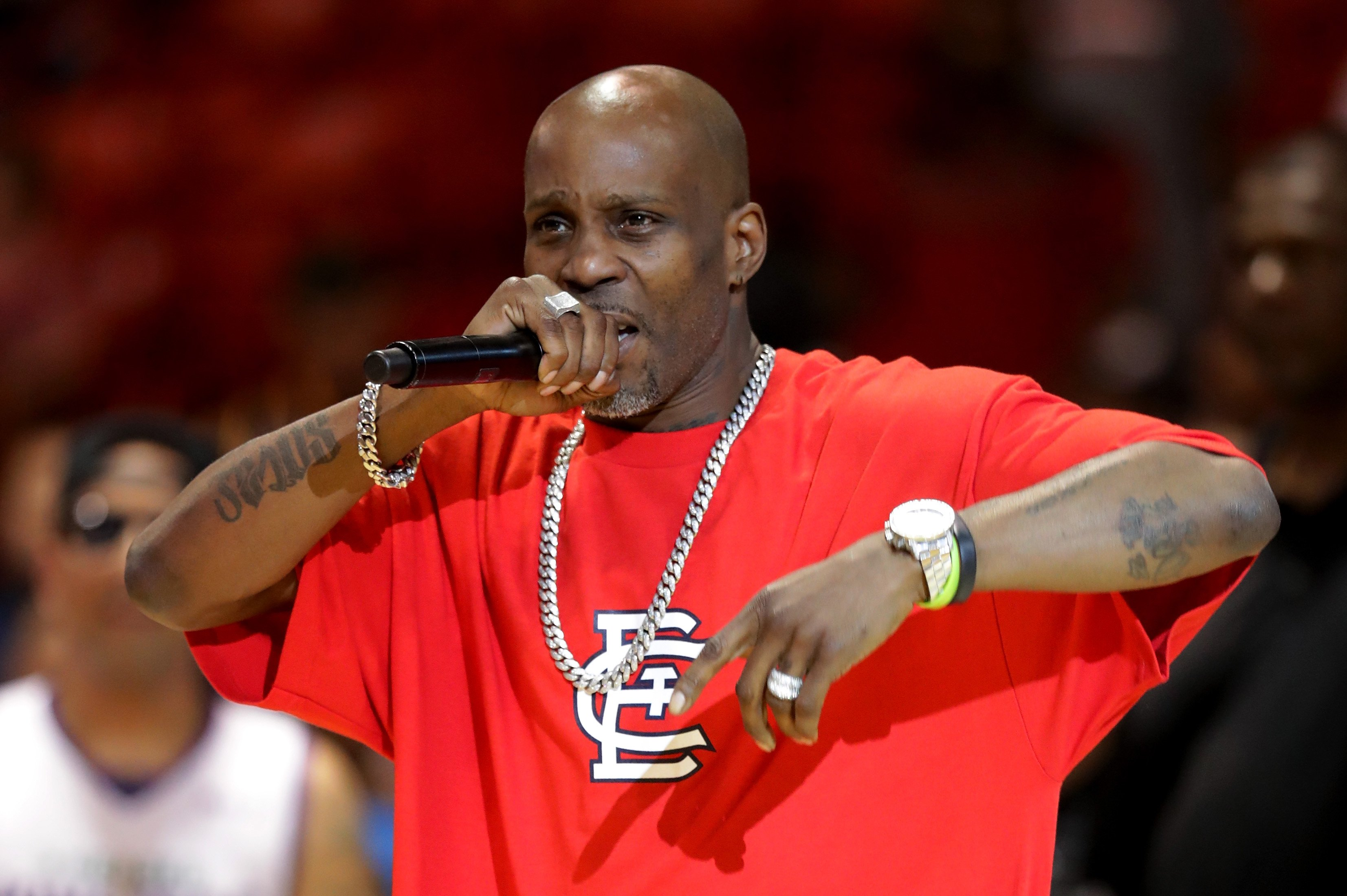 Rapper DMX performs during week five of the BIG3 three on three basketball league at UIC Pavilion on July 23, 2017   Photo: Getty Images