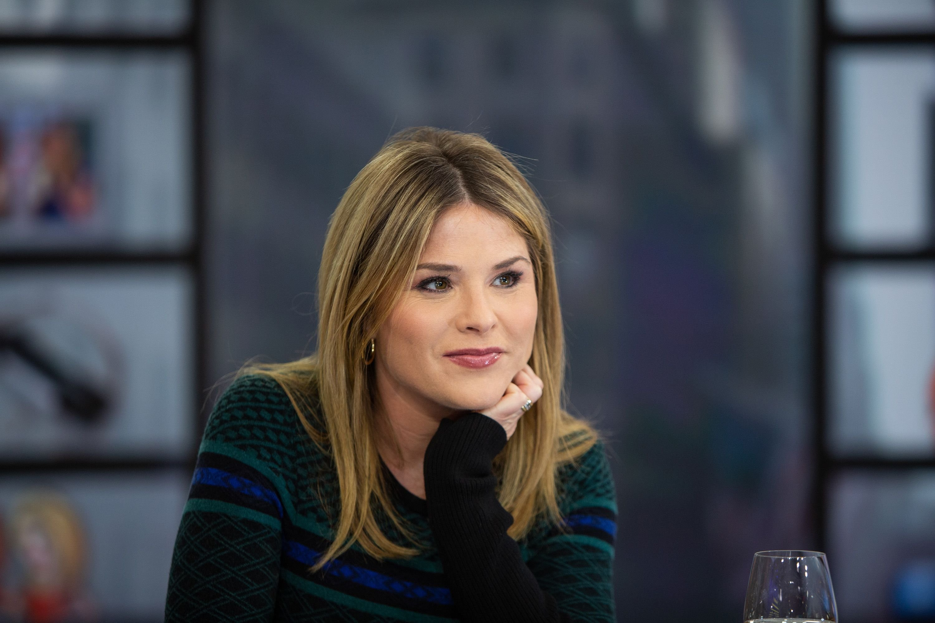 """Jenna Bush Hager during an episode of the """"Today"""" show on NBC   Photo: Nathan Congleton/NBCU Photo Bank/NBCUniversal via Getty Images"""