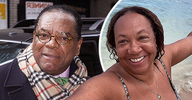 A photo collage of late John Witherspoon and Angela Witherspoon. | Photo: Getty Images Instagram.com/arobinsonwitherspoon
