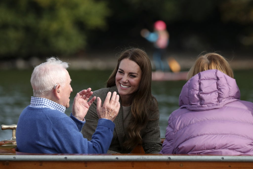 Kate Middileton visits the Holocaust survivors who found 'paradise' in the Lake District