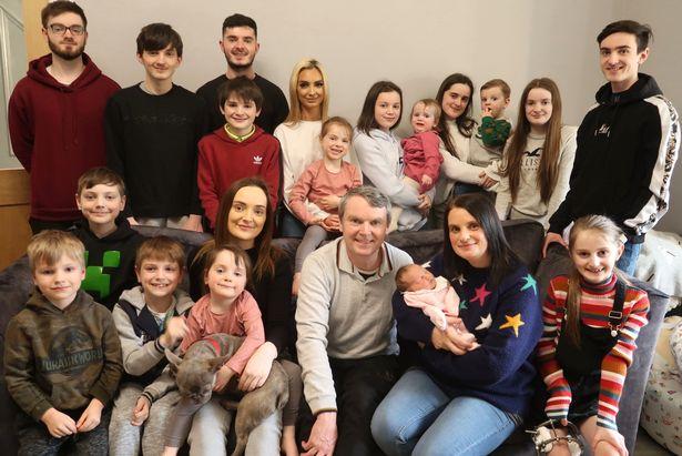 The Radfords have 22 children
