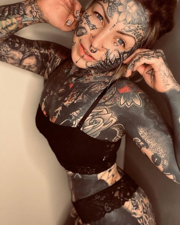 Mom with £17k worth of tattoos plans to cover herself in ink– but dreads doing butt