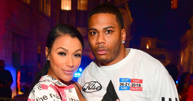 Shantel Jackson and Nelly at Teyana Taylor's Album Release Party on June 21, 2018 in Universal City, California   Photo: Getty Images