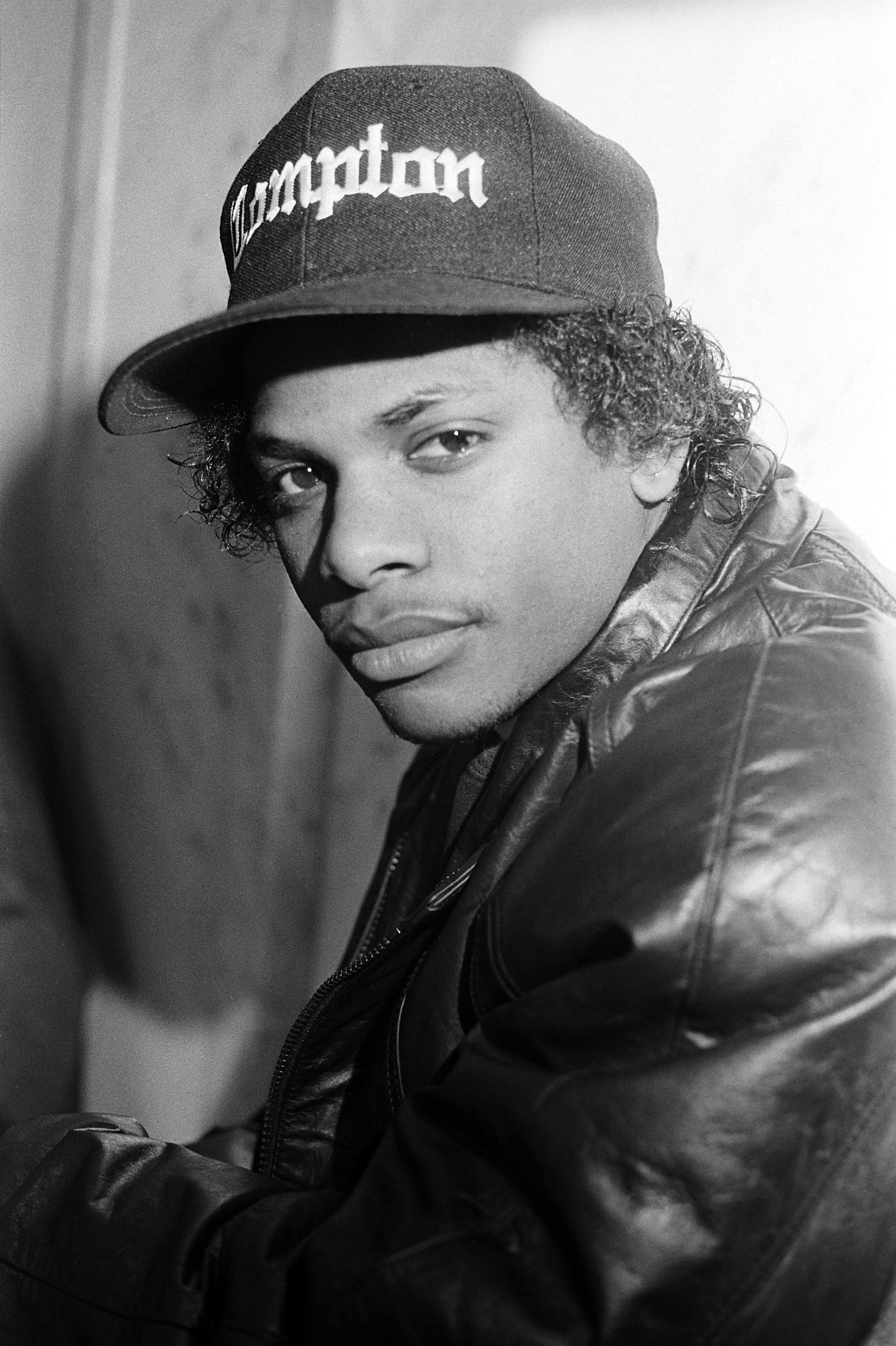 Rapper Eazy-E (aka Eric Wright) appears in a portrait taken on March 1, 1990.   Photo: Getty Images