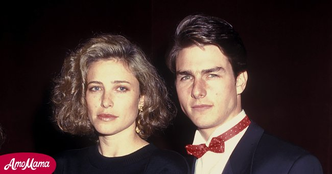 A picture of Tom Cruise and Mimi Rogers   Photo: Getty Images