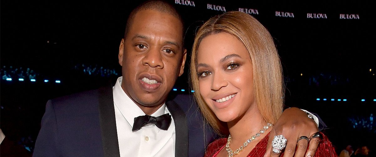 Picture of music stars Beyonce and Jay-Z |