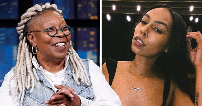Whoopi Goldberg and her grandaughter, Jerzey.   Photo: Instagram.com/jerzey.kennedy Getty Images