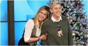 Ellen DeGeneres Shares A Sweet Memory From Jennifer Aniston's First Appearance on Her Show