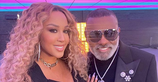 Ron Isley Defies His 80 Years Posing Carefully Holding Hands with Much Younger Wife Kandy in Versace &amp