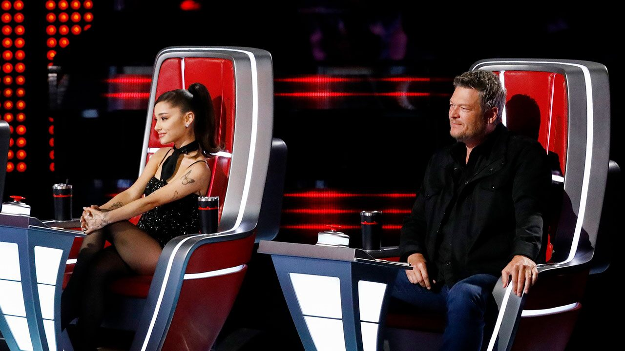 Little Feud Between Blake Shelton & Ariana Grande Takes On New Heights