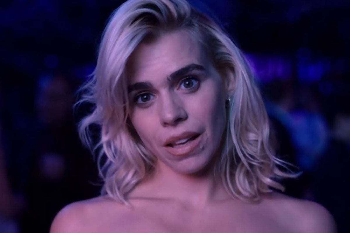 Billie Piper's hottest snaps in skintight leather to busty bombshell