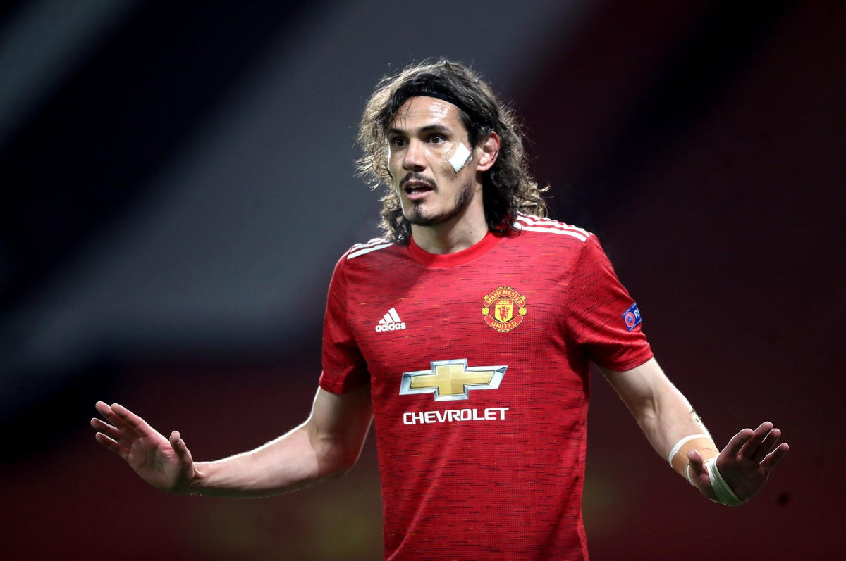 Manchester United Manager Clears Out About Cavani Omission From Squad Following Ronaldo's Debut