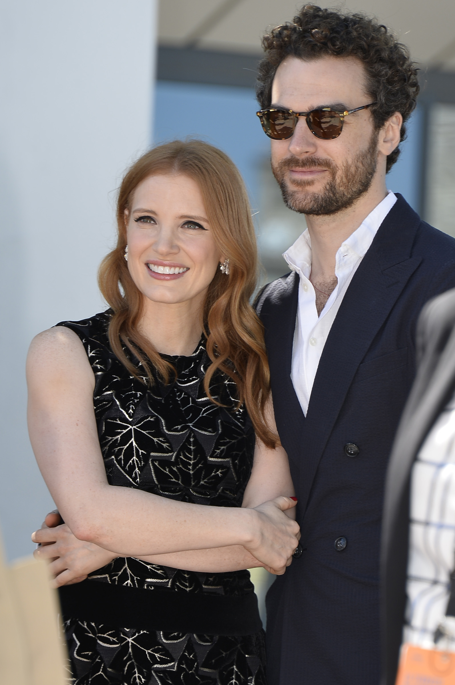 Jessica Chastain And Gian Luca Passi de Preposulo Marriage Truth Revealed!