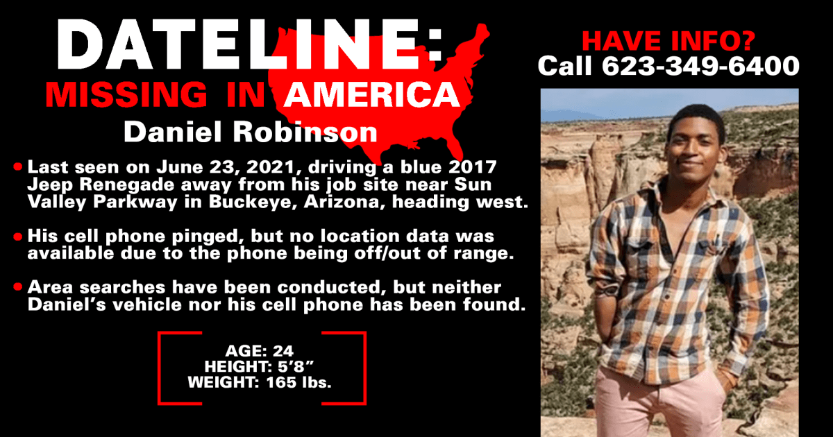 All the Buzz around Gabby Petito case draws attention to missing man Daniel Robinson from Arizona
