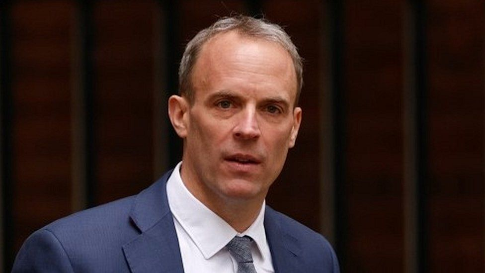 Dominic Raab Faces Backlash Over Taliban Situation in Afghanistan