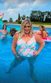Gemma Collins is confident in her body after a 3 stone weight loss.