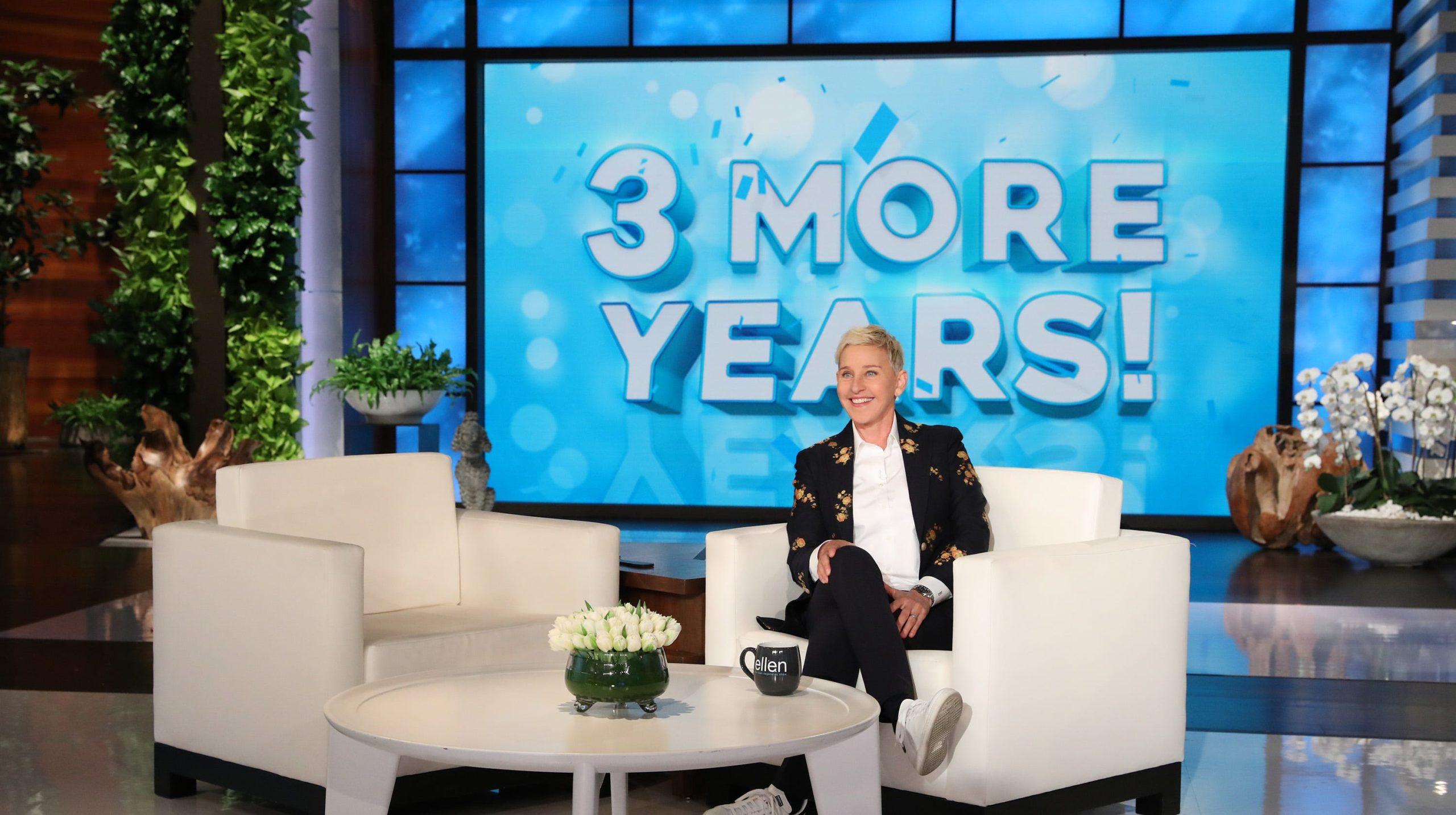 Ellen DeGeneres Final Season of Talk Show A Happy Place! The Ellen Show