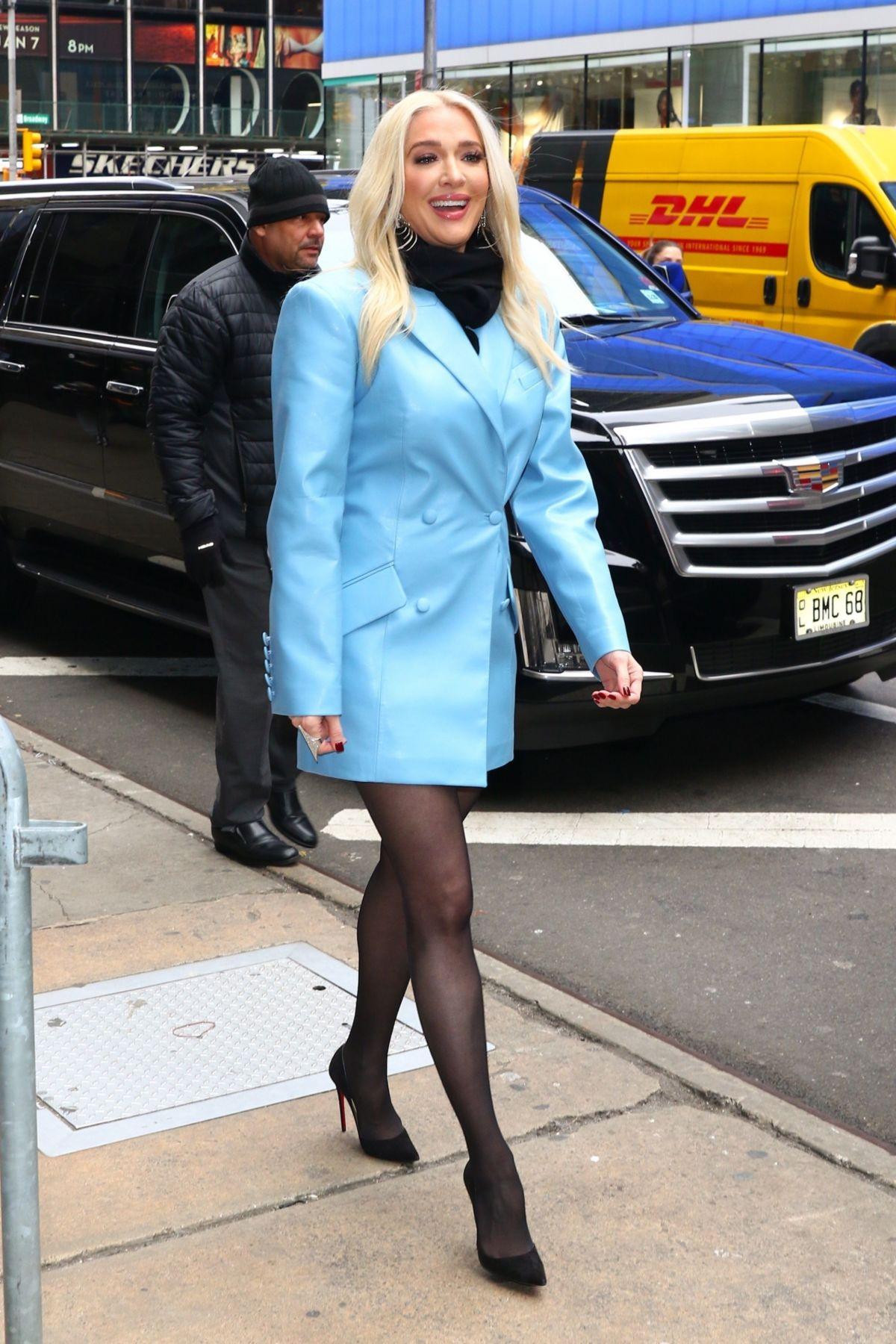 RHOBH Erika Jayne With Long Legs Looks Happy Amid Embezzlement Case!