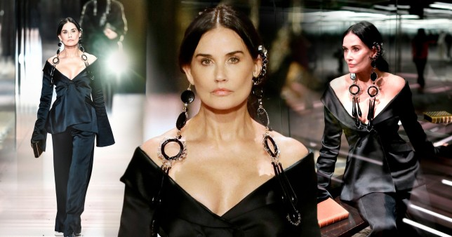 With her Obsession over Plastic Surgery Demi Moore 'Doesn't Even Look Like Herself Anymore'?