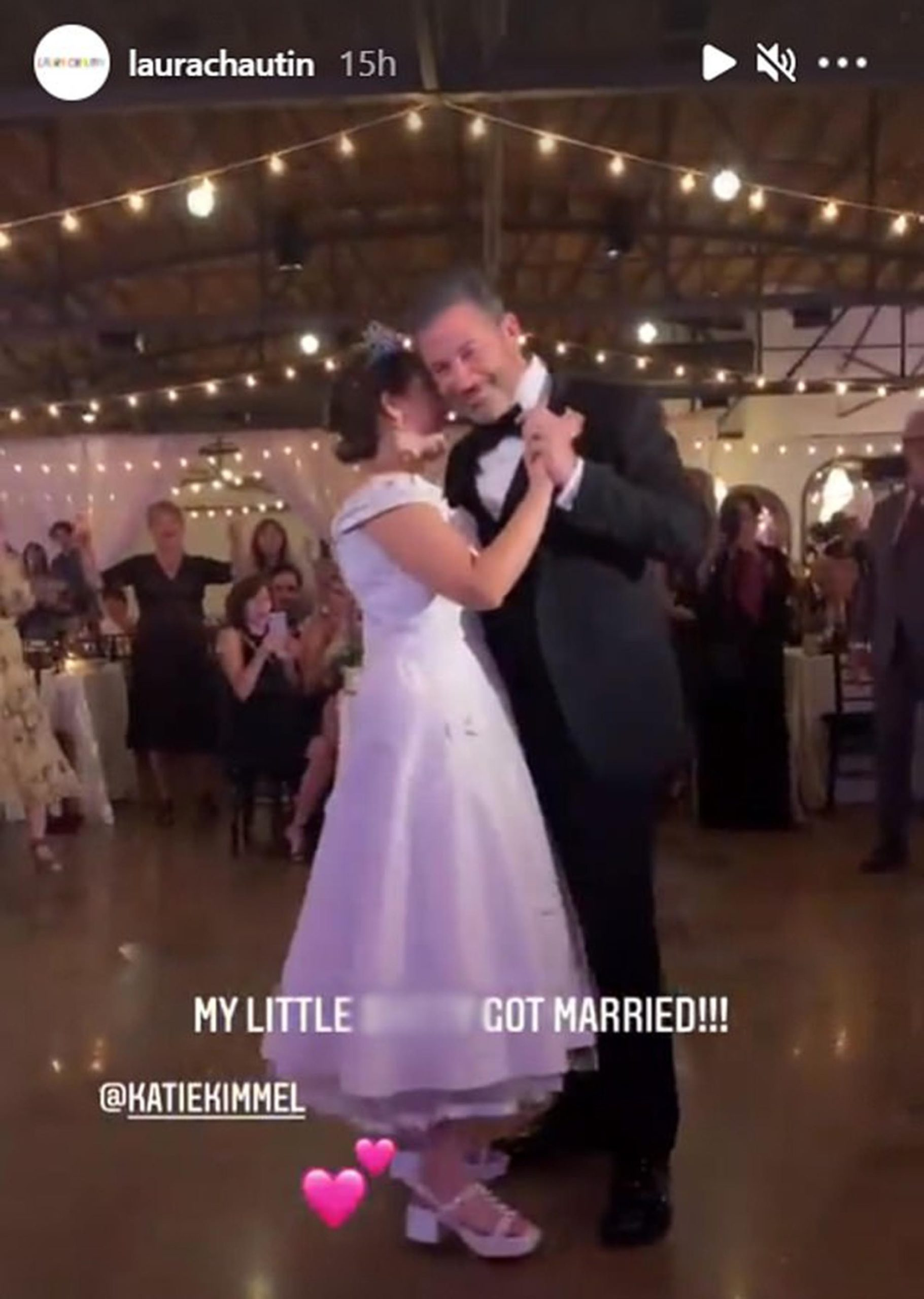 Wedding Bells in the Air for Jimmy Kimmel's Oldest Daughter Katie Kimmel Weds Longtime Love Will Logsdon