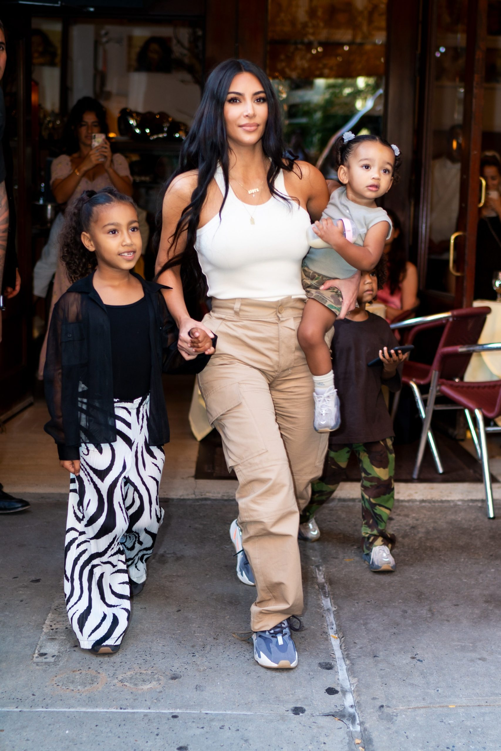 Kim Kardashian Fake Voice Gets Slammed By North West! keeping up With The Kardashians