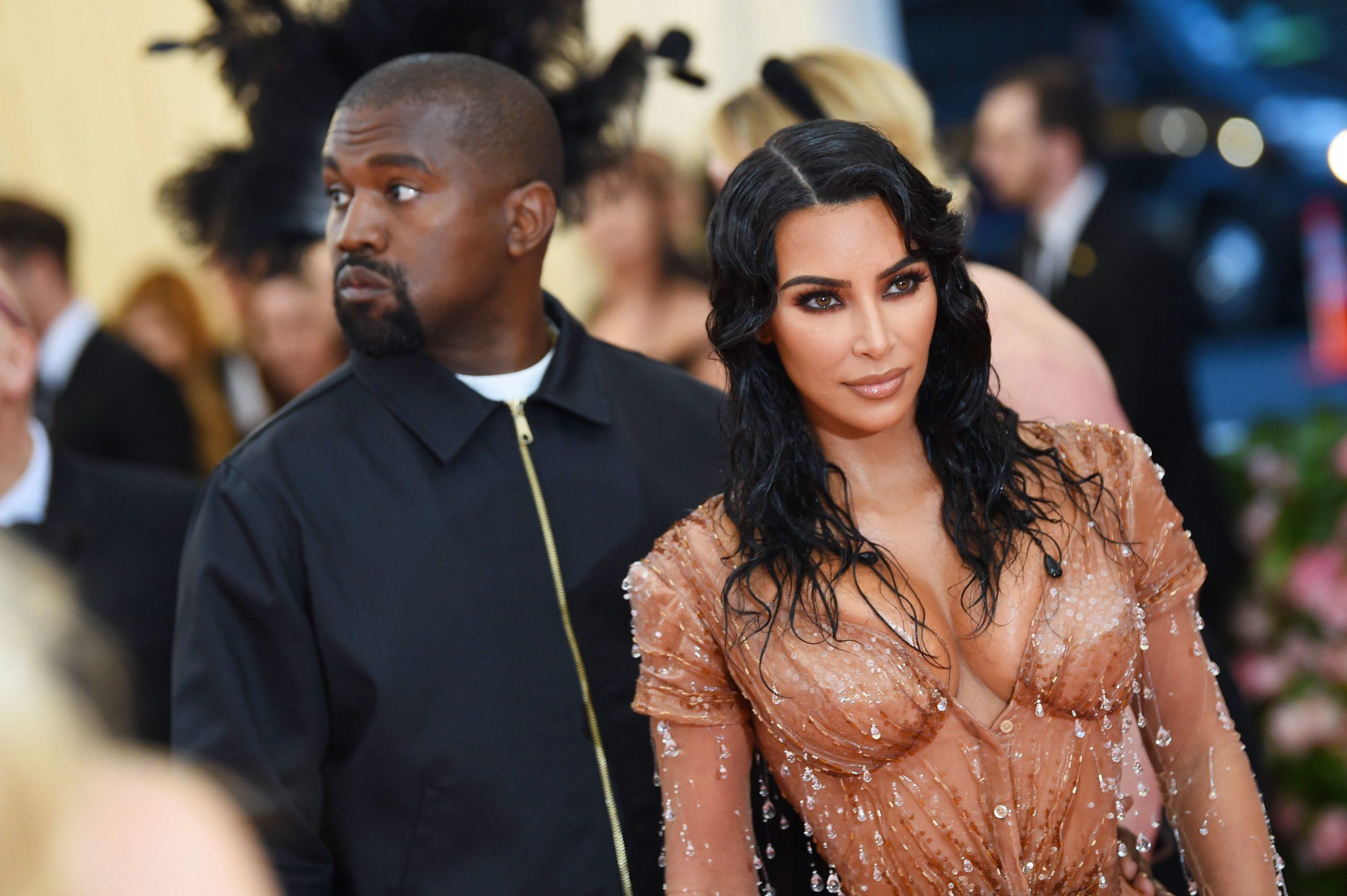 Amidst $2 Billion Divorce Proceedings is Kim Kardashian 'Trapped In Kanye's Hell'.