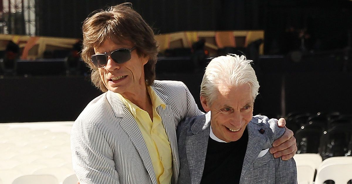 Charlie Watts's Right Hook On Mick Jagger Goes All The Way To The Grave