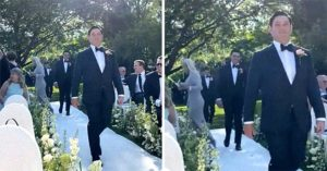 Groom's Father Ruins The Wedding Party Bringing His New Girlfriend To The Party!!