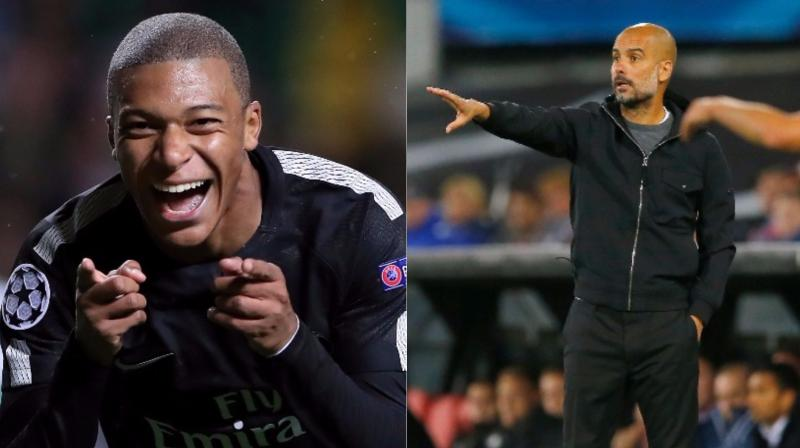 Pep Guardiola Pops The Bubble About Kylian Mbappe's Transfer Rumors To Manchester City