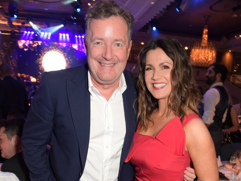 Susanna Reid Reunites With Piers Morgan At TRIC Awards Ceremony With A Little Tease