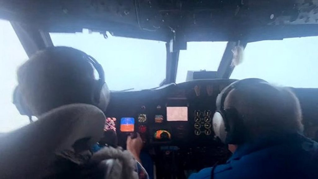 A Pilot Flies Through A Hurricane Safely And The Video Surfaces On The Internet
