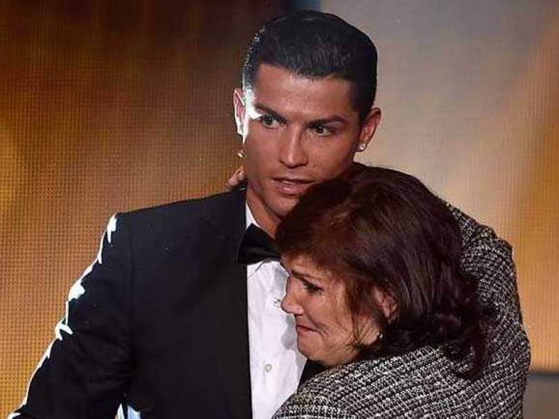 Christiano Ronaldo's Mom In Tears Following His Emotional Return To Manchester United