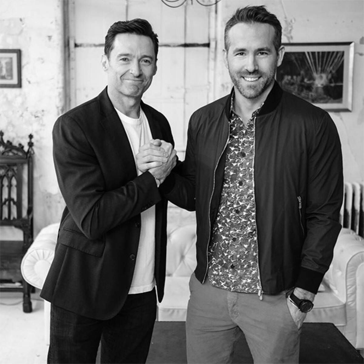 Once Again Hugh Jackman Throws Shade At Ryan Reynolds