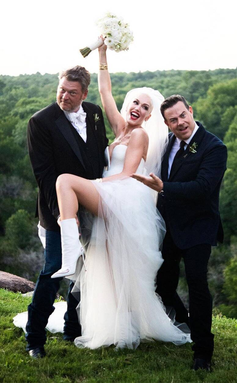 Us Weekly revealed Blake Shelton and Gwen Stefani Looking Forward to Welcome A Baby Girl In 2022