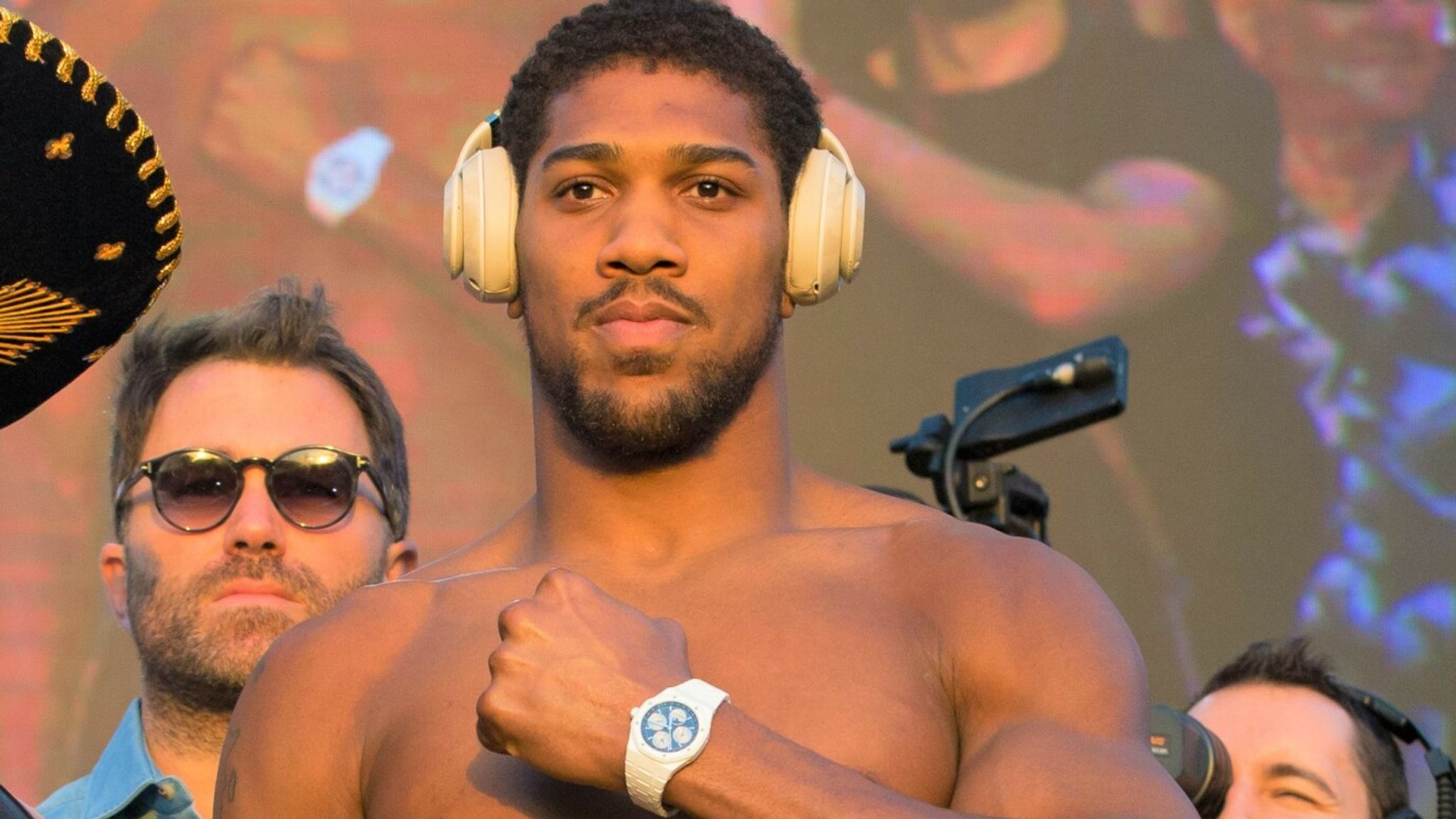 Anthony Joshua And Jay Z Will Smith Movie Premiere And Anthony Feared Jay Z Here's Why!