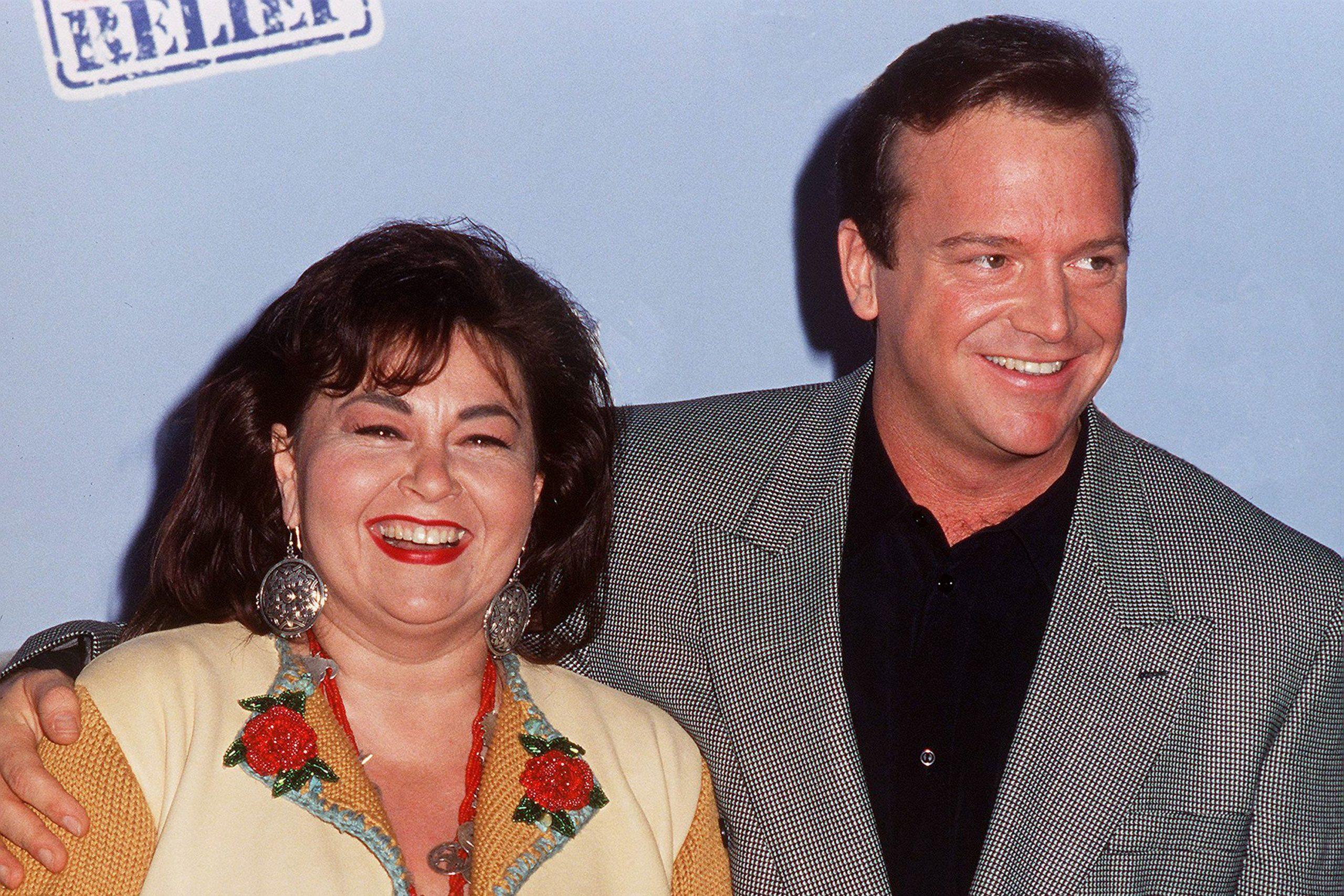 Roseanne Barr And Tom Arnold Split She Cut Up Tom's Credit Cards?