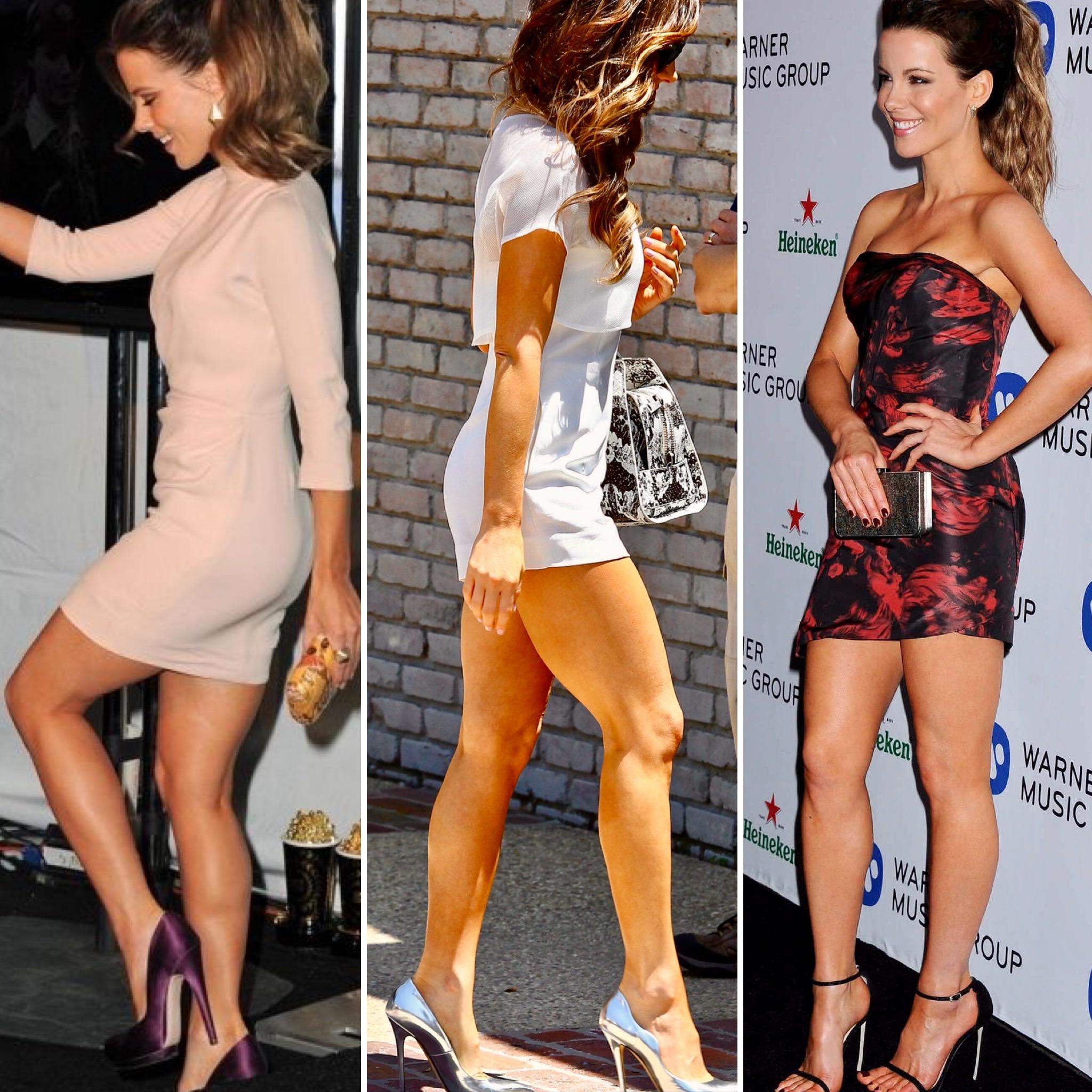 Kate Beckinsale Amazing Legs in Explicate T-Shirt On Instagram!