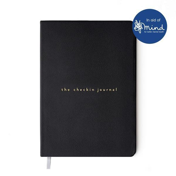 The Checkin Journal encourages users to write down their emotions daily
