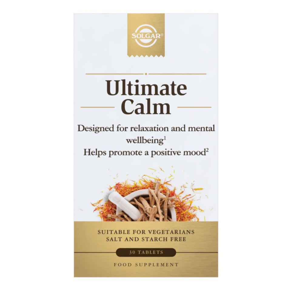 Ultimate Calm is a food supplement designed to deliver what it promises