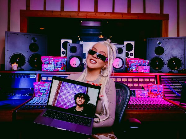 Christina Aguilera Teases New Latin Album, Talks SweeTARTS Collab